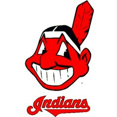 The Cleveland Indians: My Favorite baseball team Mlb Team Logos, Mlb Teams, Baseball Teams, Sports Logos, Sports Teams, Cleveland Indians Baseball, The Buckeye State, Cleveland Browns, Nfl Football