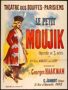 Le petit moujik:operette en 3 actes de Pierre Newsky et Jean Léry (Pleasure & leisure posters France) #Booktower