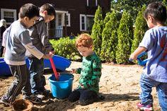 social interaction, through play