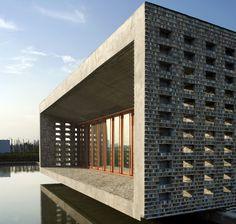 Wang Shu, ceramic house