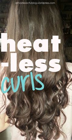 heatless curls