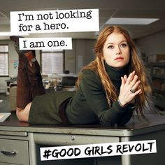Good Girls Revolt, a new Amazon Prime series about the true story of the women's revolution at Newsweek.