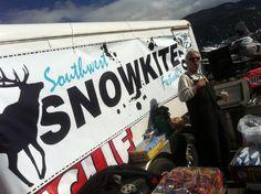 2012 Snowkite Festival at Eagle Nest Lake State Park, NM