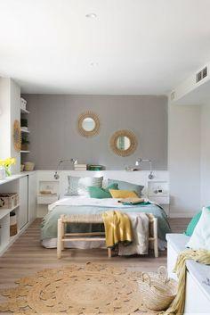 Home Bedroom, Master Bedroom, Home Decor Kitchen, Interior Design Living Room, Kids Room, Room Decor, Cabinet, House, Furniture