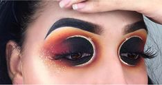 Don't Worry If You Slept Through the Solar Eclipse, This Makeup Version Is Even Better  ||  You've never seen a cut crease like this.  https://www.popsugar.com/beauty/Solar-Eclipse-Makeup-44314729?utm_campaign=crowdfire&utm_content=crowdfire&utm_medium=social&utm_source=pinterest