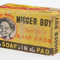 Packet - Nigger Boy Steel Wool Soap Pads 1950's