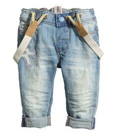 OMG, baby suspenders with denim, I die!!! Jake needs these asap.