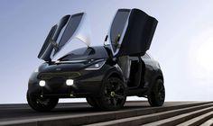 2014 Kia Niro Hybrid Concept  see more : http://goo.gl/pfhndD