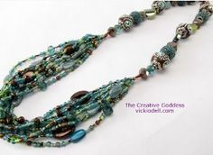 Easy Boho Beaded Necklace - you'll learn how to make necklaces that go from one strand, to multiple strands, and back to one strand again. Don't worry! It's much simpler to pull off than it sounds, and the end result is worth the effort.  Read more at http://www.allfreejewelrymaking.com/Strung-Necklace/Boho-Beaded-Necklace/ml/1/?utm_source=ppl-newsletter&utm_medium=email&utm_campaign=allfreejewelrymaking20141124/mlmd5/0480372cc00d69409e5dc2a7b4082dcf#TiK7QDGbSeBUTuaA.99