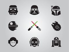 star wars icons - Buscar con Google