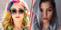 Diese kuriosen Haartrends machen den Sommer 2015 kunterbunt!