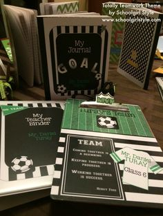 Sports Classroom Theme and Decor by Schoolgirl Style Classroom Organization… Sports Theme Classroom, Classroom Crafts, School Classroom, Classroom Organization, Classroom Ideas, Classroom Libraries, Team Theme, Soccer Theme, Football Themes