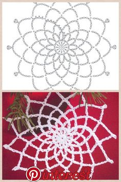 The snowflakes crochet pattern is a good guideline to knit the crochet products. There are some crochet patterns that can be chosen for knitting. Every crochet pattern is like a magical pattern and motif. Appliques Au Crochet, Crochet Motifs, Crochet Diagram, Thread Crochet, Filet Crochet, Crochet Crafts, Crochet Doilies, Crochet Flowers, Crochet Lace