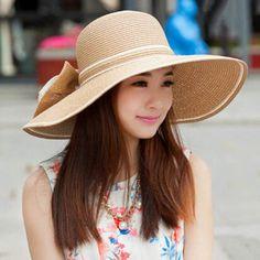 8f820e02 Elegant flower floppy straw hat for women wide brim design. Fashion  HatsFashion ...