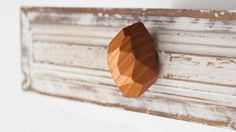 Cabinet knobs and handles  wood  Drawer knob for by LuzDelBosque
