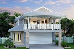 The first design we looked at. One of my favourite house designs - somehow both beachy and country! Hamilton 266 - Metro, Home Designs in Sydney - North (Brookvale) Hamptons Style Homes, The Hamptons, Hamilton, Home Design, Design Ideas, House Front, My House, Front Of Houses, Nice Houses