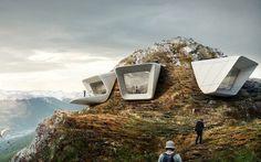 MMM Corones - музей имени альпиниста Райнхольда Месснера.