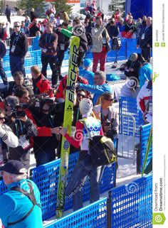 Interview with Gregor Schlierenzaueron, ski jumper during 2010 Winter Olympics competition in Whistler, Canada.