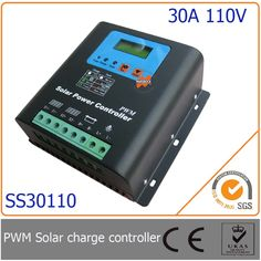 187.95$  Watch here - http://aligrs.worldwells.pw/go.php?t=1457314815 - 30A 110V PWM Solar Charge Controller with LED&LCD Display, Auto-Identification Voltage, MCU design with excellent performance 187.95$