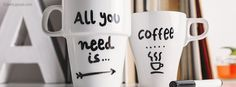 All You Need Is Coffee Facebook Cover coverlayout.com