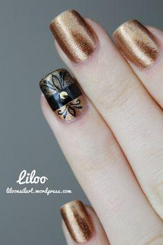 Golden manicures :)