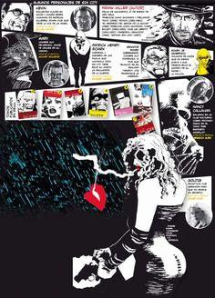 "#Infografia de ""Sin City"""