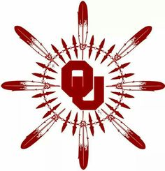 Loving this University of Oklahoma Sooners logo. Go OU!
