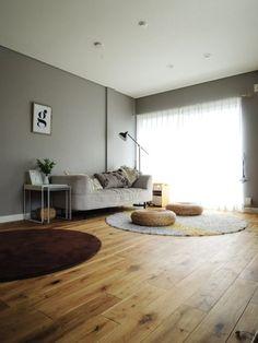 鉄骨造3階建て住宅をフルリノベ。LDKを広々と、収納も充実! - 戸建リノベーション事例|リノベりす Interior Design Living Room, Living Room Decor, Bedroom Decor, Home Renovation, My Room, Home Projects, House Design, House Styles, Home Decor