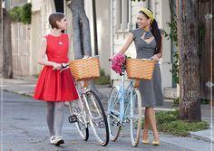 dresses + bicycles
