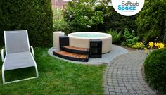Vířivka Softub na terase či v zahradě #virivky #virivybazen www.softub-spa.cz