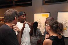 Tanya, Lazyhound Coka, Roman, and bamboo Sibiya sharing a moment