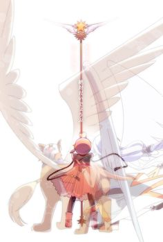 Cardcaptor Sakura   CLAMP   Madhouse / Kinomoto Sakura, Keroberos (Kero-chan)…