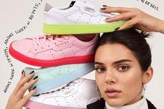 Kendall Jenner is a Sneaker Head in adidas Originals Campaign Kendall Jenner Adidas, Kendall Jenner Modeling, Kendall Jenner Body, Kendall Jenner Outfits, Womens Fashion Sneakers, Womens Fashion For Work, Theme Tattoo, Free Iwatobi Swim Club, Adidas Stan Smith