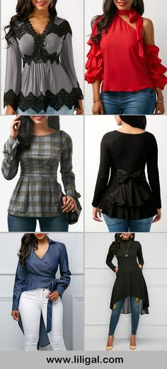 casual tops casual outfits casual outfit ideas daily tops daily outfits tops for women Pretty Outfits, Fall Outfits, Casual Outfits, Girl Fashion, Fashion Outfits, Womens Fashion, Fashion Trends, Winter Stil, Fall Winter