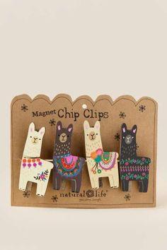 Llama Chip Clip Set