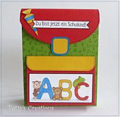 Bettys-creations: Schulranzen