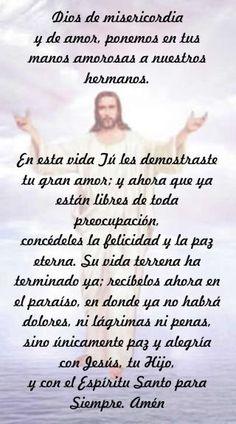 Condolences Quotes, Sympathy Quotes, Dad Quotes, Prayer Quotes, Qoutes, Spanish Prayers, Spiritual Prayers, My Step Mom, Positive Phrases