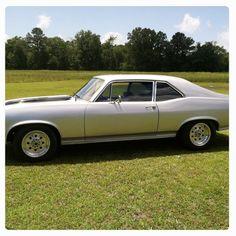 Hubby's 1972 Nova