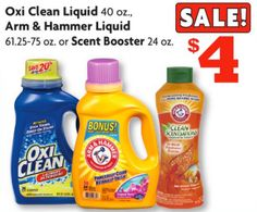 Family Dollar: OxiClean Laundry Detergent Only $1 (Print Your Coupon!) – Hip2Save