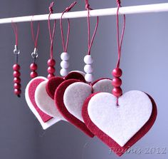 Weaving, Knitting, Crochet, Fabric, Projects, Christmas, Hearts, Color, Home