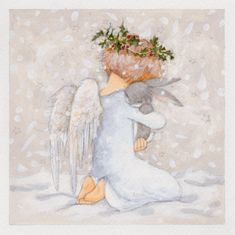 Annabel Spenceley - Angel And Bunny                                                                                                                                                                                 More