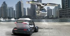 Airbus and Italdesign unveil Pop.Up, a multimodal passenger transport concept that makes full use of the urban transportation space.