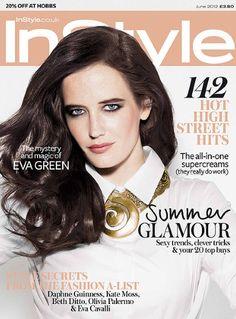 Model: Eva Green  Magazine: InStyle  Photographer: Rankin