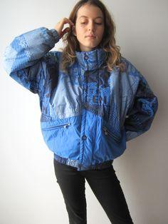 Vintage Luhta Ski Jacket Blue Snow Jacket Hipster Ski Jacket Winter  Activewear Sport Jacket Small Size Mens Ski Jacket b57065854