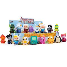 Adventure Time x Kidrobot Mini Series Blind Box. Collect all 18 of these awesome Adventure Time figures. Featuring Fin, Jake, BMO, and many more!