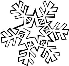 snowflake coloring pages snowflake coloring page