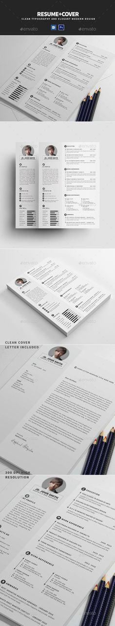 The Resume Template PSD, MS Word Download here http - resume on word