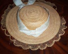 Original Civil War Era Straw Hat as Is C 1860 | eBay