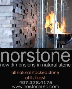 Remarkably simple and cost-effective, Norstone Natural Stone Wall Tiles offer high-end design and style without any of the installation hastle. With a product perfect for any project big or small, residential or commercial, Norstone is your premiere source for designer natural stone products delivered right to your doorstep in a couple days. ross@norstoneusa dot com