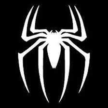 Picture 3 of 13 Spiderman Tattoo, Spiderman Spider, Stencils, Stencil Art, Window Stickers, Bumper Stickers, Plasma Cutter Art, Van Wall, Black And White Logos